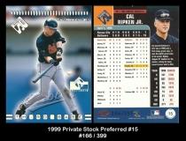 1999 Private Stock Preferred #15