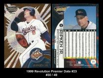 1999 Revolution Premier Date #23