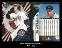 1999 Revolution Red #23