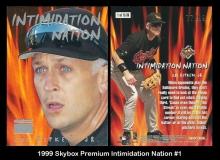 1999 Skybox Premium Intimidation Nation #1