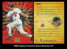 1999 Skybox Premium Show Business #7