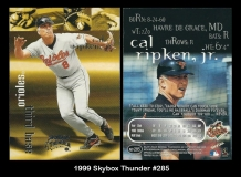 1999 Skybox Thunder #285