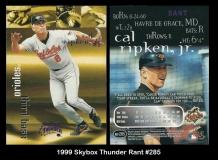 1999 Skybox Thunder Rant #285