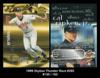1999 Skybox Thunder Rave #285