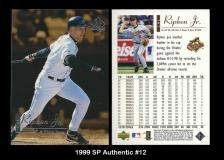 1999 SP Authentic #12