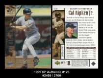 1999 SP Authentic #125