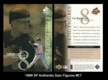 1999 SP Authentic Epic Figures #E7