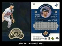 1999 SPx Dominance #FB3