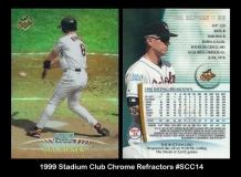1999 Stadium Club Chrome Refractors #SCC14