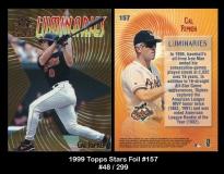 1999 Topps Stars Foil #157