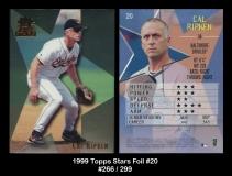 1999 Topps Stars Foil #20