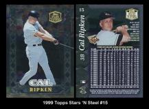 1999 Topps Stars 'N Steel #15
