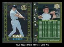 1999 Topps Stars 'N Steel Gold #15