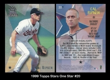 1999 Topps Stars One Star #20