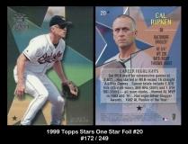 1999 Topps Stars One Star Foil #20