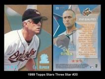 1999 Topps Stars Three Star #20