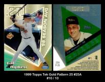 1999-Topps-Tek-Gold-Pattern-25-25A