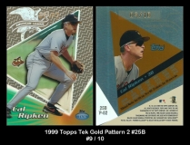 1999 Topps Tek Gold Pattern 2 #25B