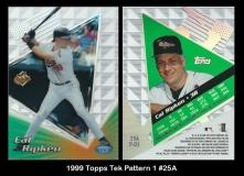 1999 Topps Tek Pattern 1 #25A