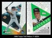 1999 Topps Tek Pattern 11 #25A