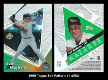 1999 Topps Tek Pattern 13 #25A