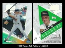 1999 Topps Tek Pattern 14 #25A
