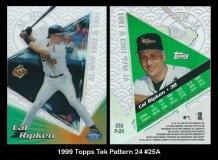 1999 Topps Tek Pattern 24 #25A