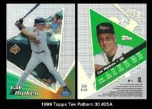 1999 Topps Tek Pattern 30 #25A