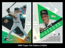 1999 Topps Tek Pattern 9 #25A