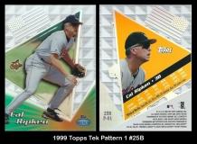 1999 Topps Tek Pattern 1 #25B