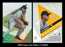 1999 Topps Tek Pattern 10 #25B