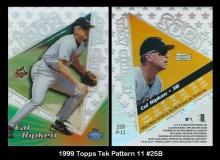 1999 Topps Tek Pattern 11 #25B