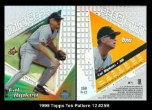 1999 Topps Tek Pattern 12 #25B