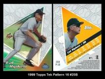 1999 Topps Tek Pattern 16 #25B
