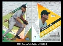1999 Topps Tek Pattern 20 #25B