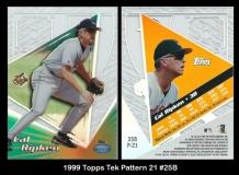 1999 Topps Tek Pattern 21 #25B