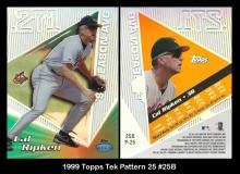 1999 Topps Tek Pattern 25 #25B