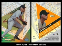 1999 Topps Tek Pattern 26 #25B