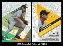1999 Topps Tek Pattern 27 #25B