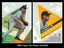 1999 Topps Tek Pattern 28 #25B