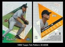 1999 Topps Tek Pattern 30 #25B