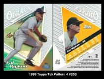 1999 Topps Tek Pattern 4 #25B