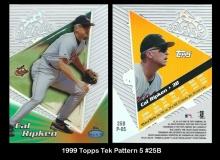 1999 Topps Tek Pattern 5 #25B