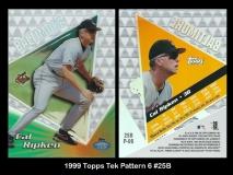 1999 Topps Tek Pattern 6 #25B