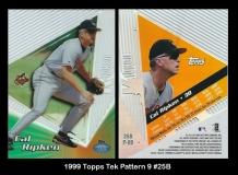1999 Topps Tek Pattern 9 #25B