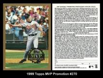 1999 Topps MVP Promotion #270
