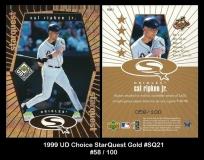 1999 UD Choice StarQuest Gold #SQ21