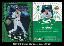 1999 UD Choice StarQuest Green #SQ21