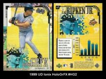 1999 UD Ionix HoloGrFX #HG2
