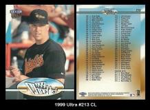 1999 Ultra #213 CL